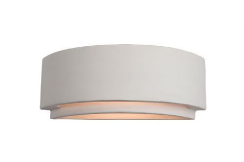 Firstlight C345UN Unglazed Ceramic Wall Light - 100w
